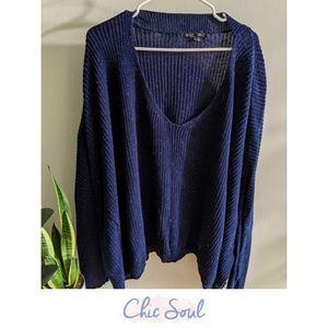 Oversized Sweater   Chic Soul